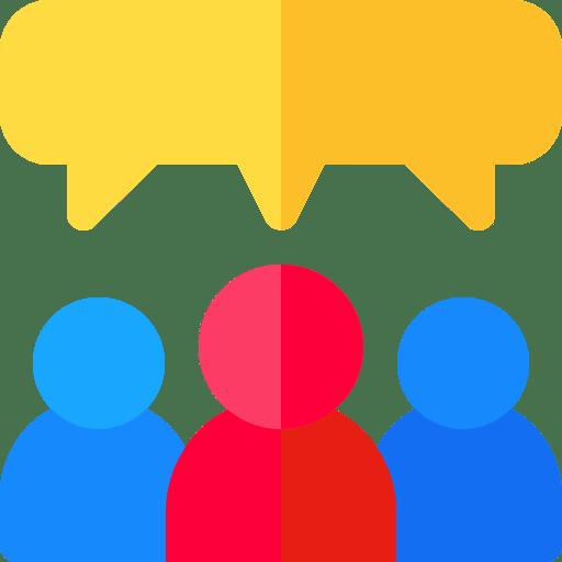 Bulle conversation et personnages